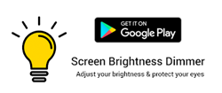 Screen Brightness Dimmer