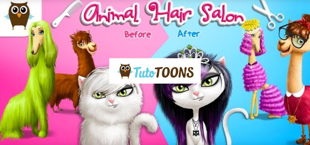 Animal Hair Salon and Dress Up