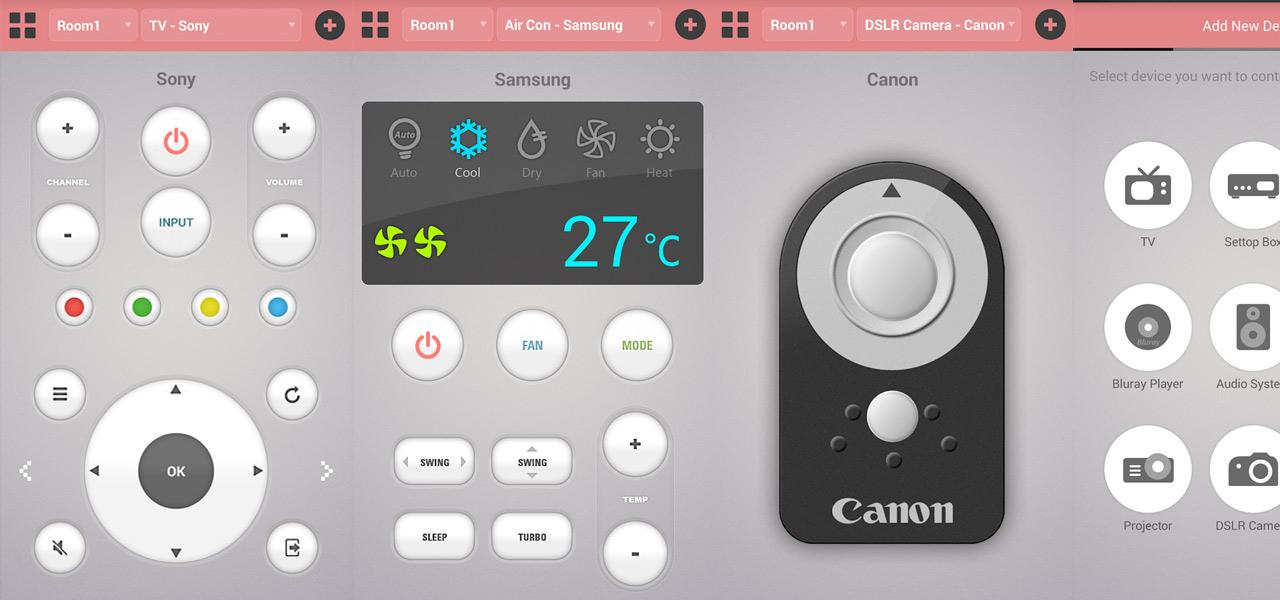 ASmart Remote IR