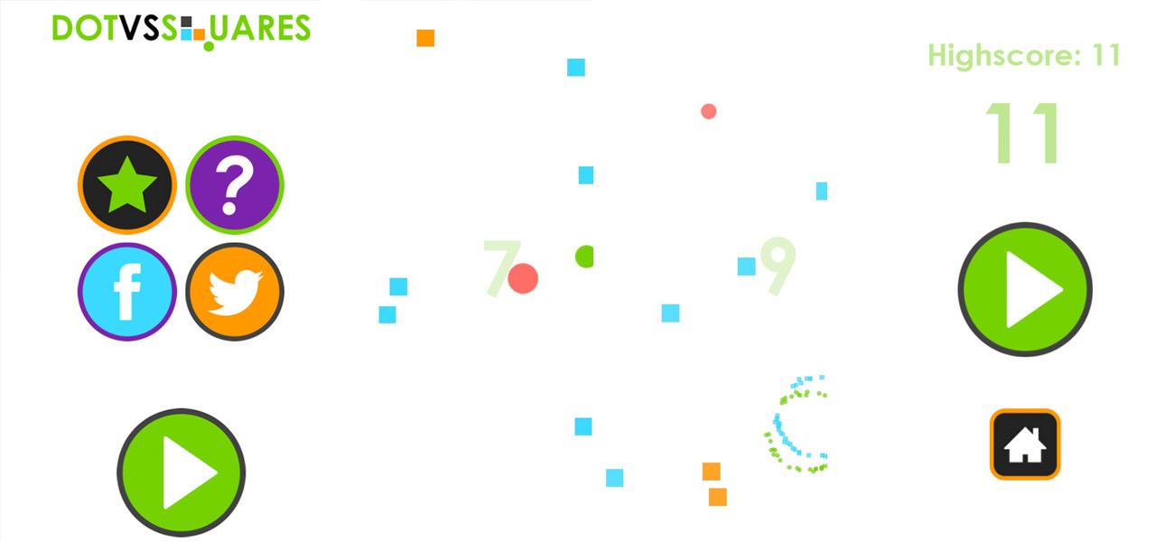 Dot vs Squares
