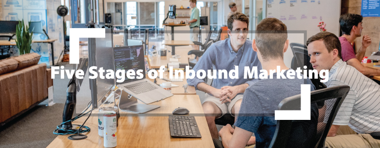 The five stages of Inbound Marketing