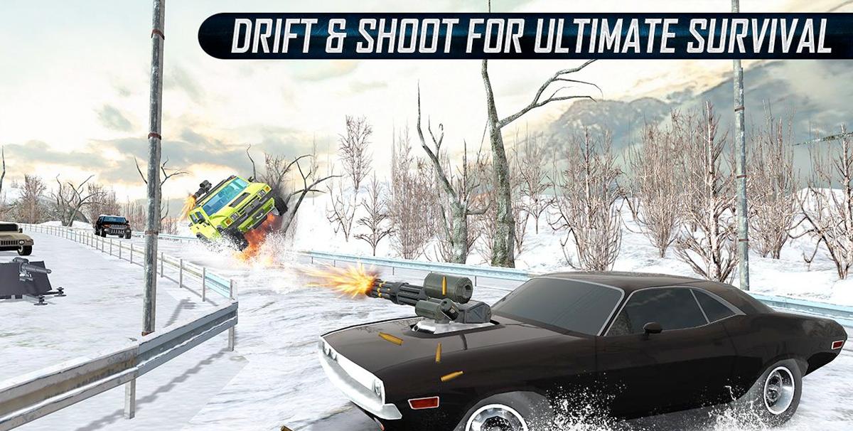 Furious Death Car Snow Racing