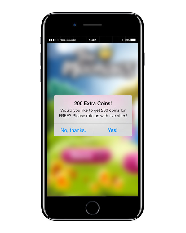 Incentivize Users to Review your Apps & Games