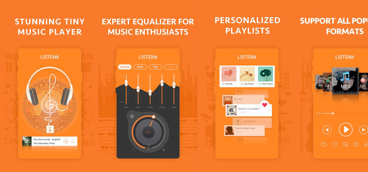 Music Player - just LISTENit