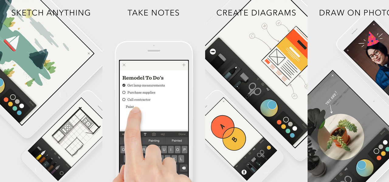 Paper by FiftyThree - Sketch, Diagram, Take Notes