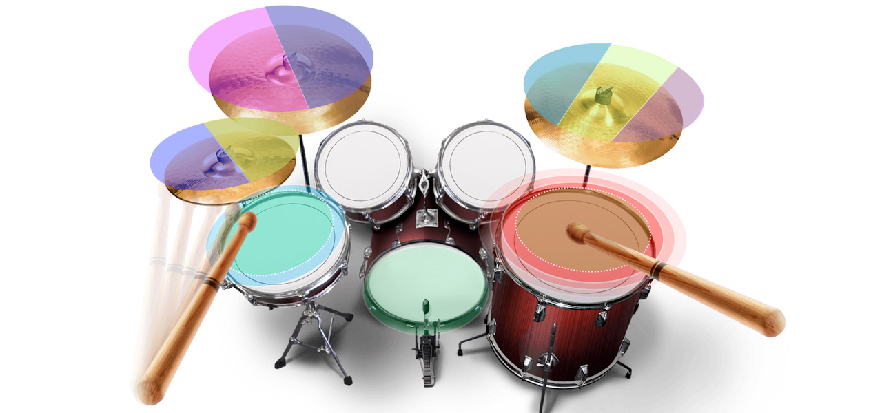 Real Drums Free 2: Drum set