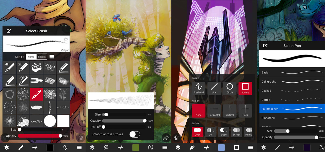 10 Best iOS Art Apps 2017: Draw, Sketch and More