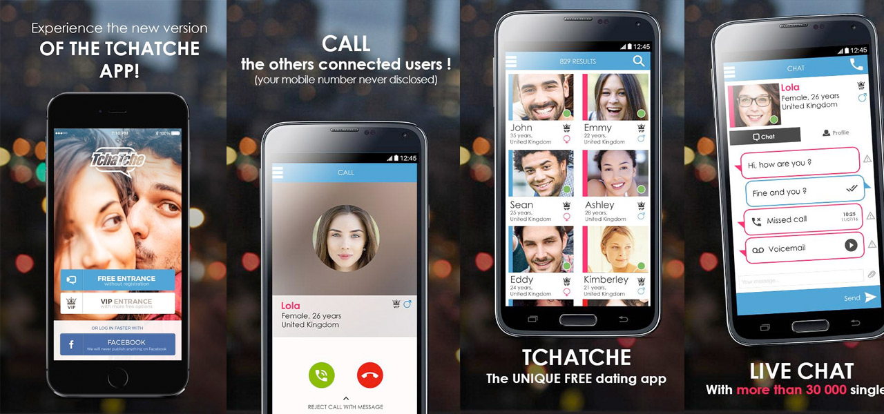 Tchatche: Chat & Dating