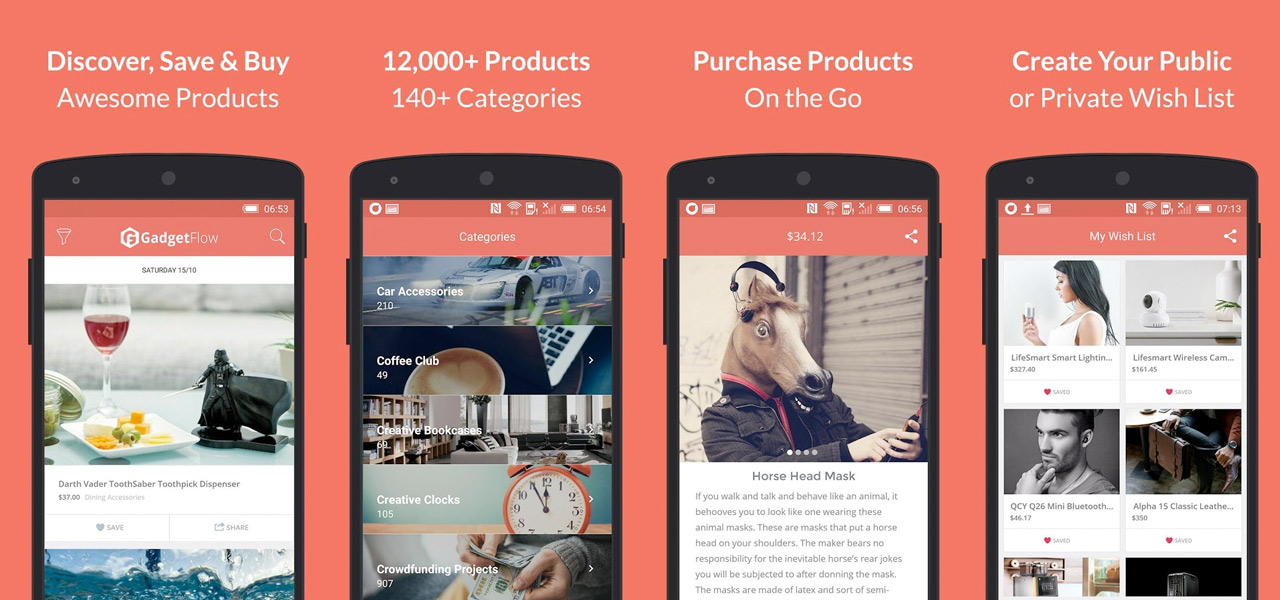 The Gadget Flow Mobile App