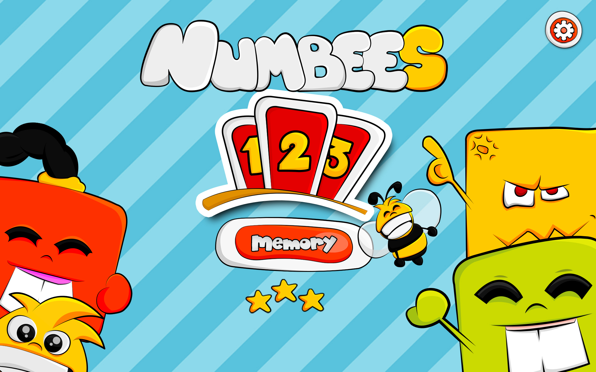 1,2,3 Numbees Memory