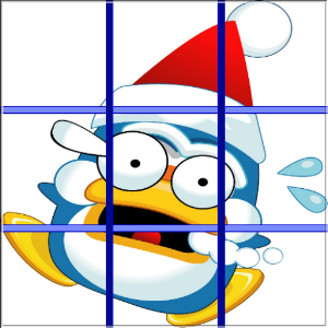 Christmas Penguins Puzzle