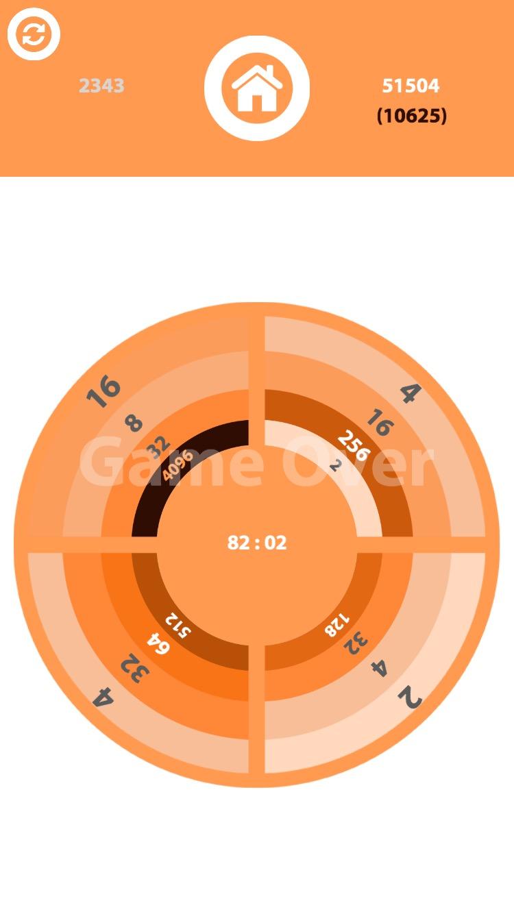 2048 Ring Puzzle