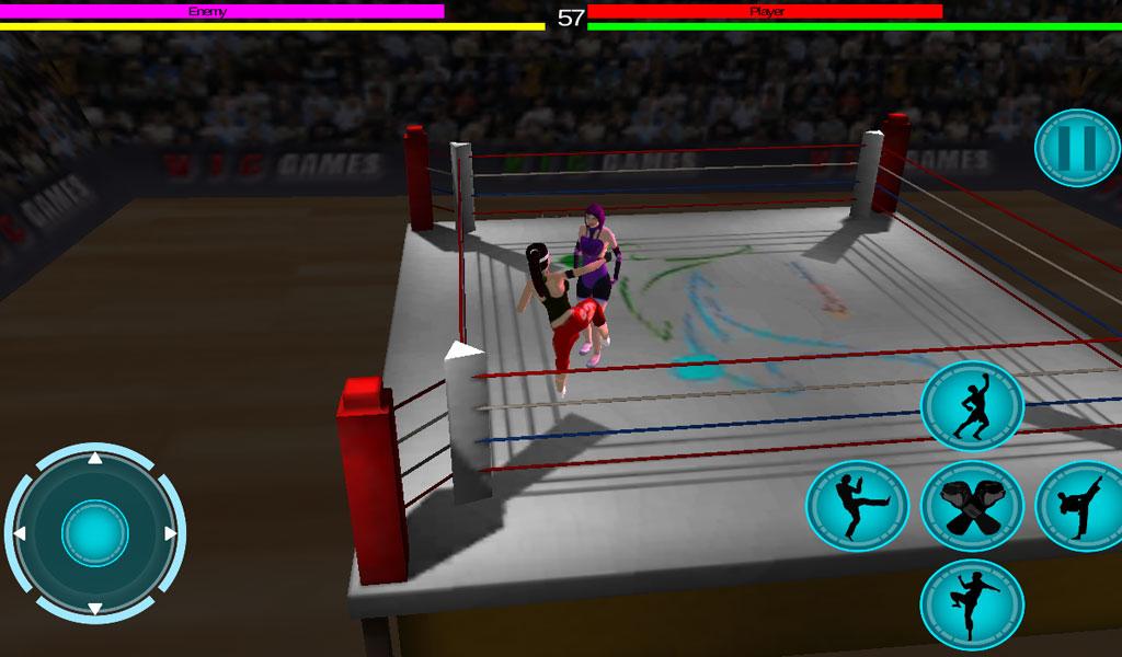 3D girls martial art