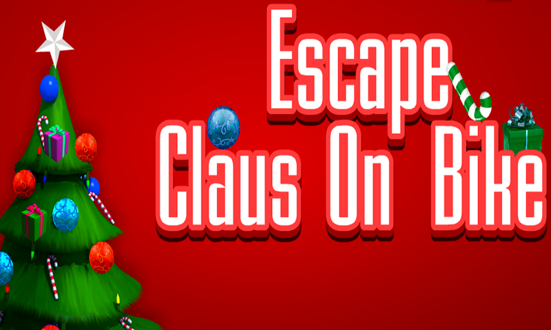 518-Escape Claus On Bike