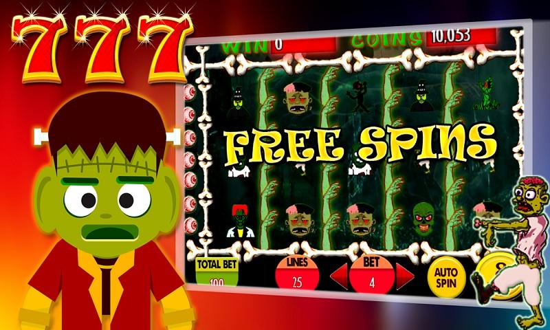 777 Goodluck Zombie Slot Fever