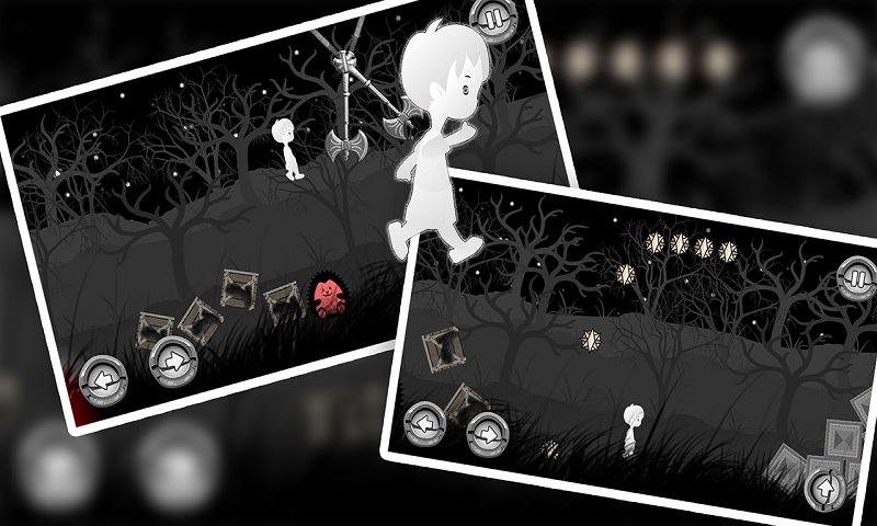 A BoyÔÇÖs Escape : Lost in the Haunted Dark Black Forest At Night