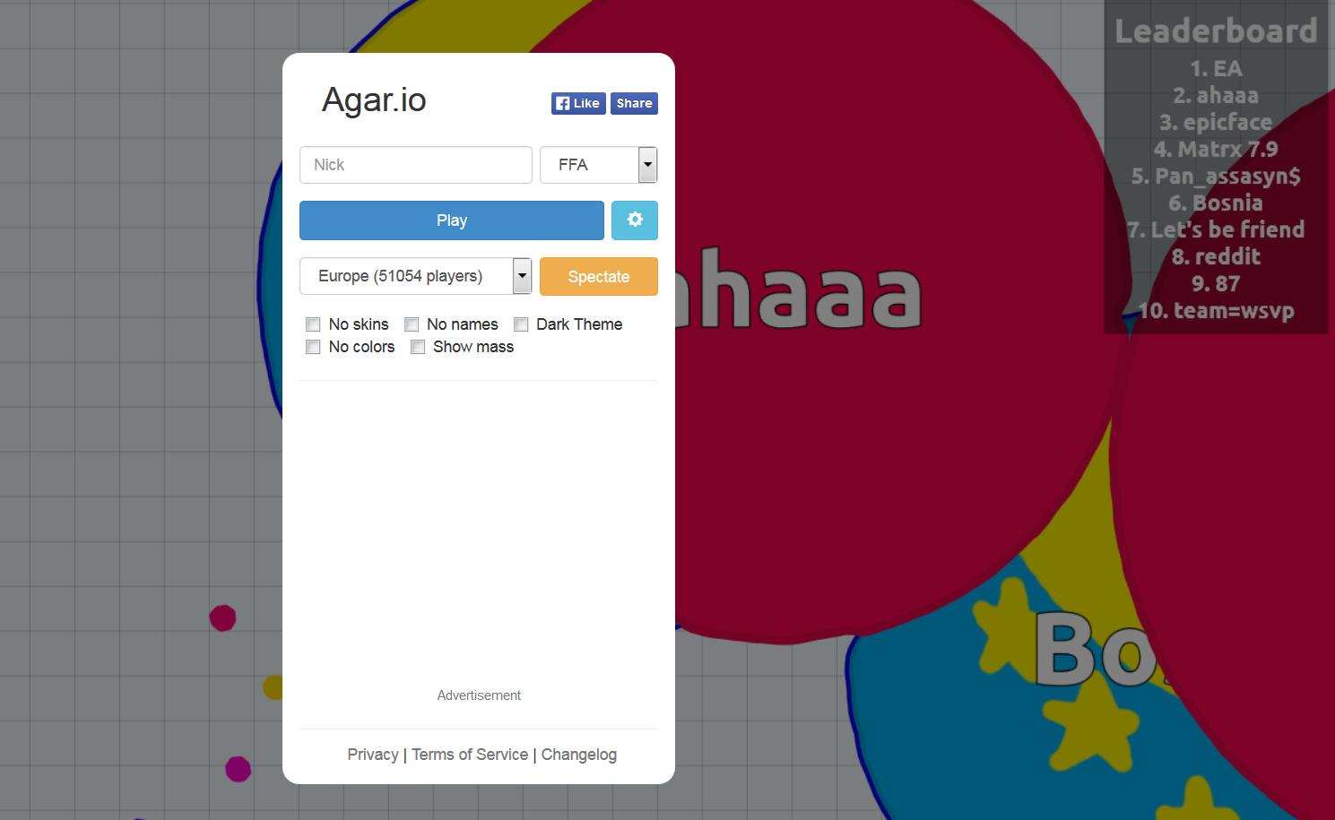 Agar.io Pocket Edition