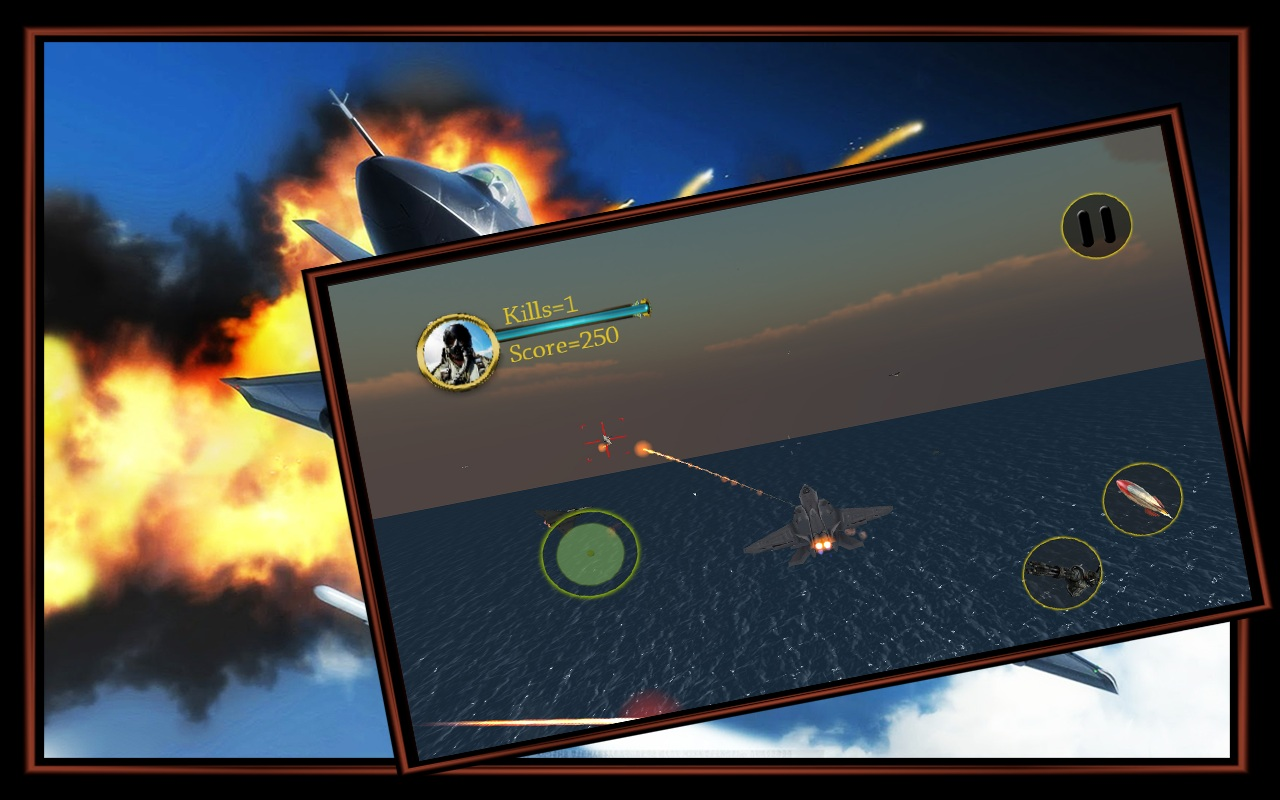 Air Space Jet Fighter 3D