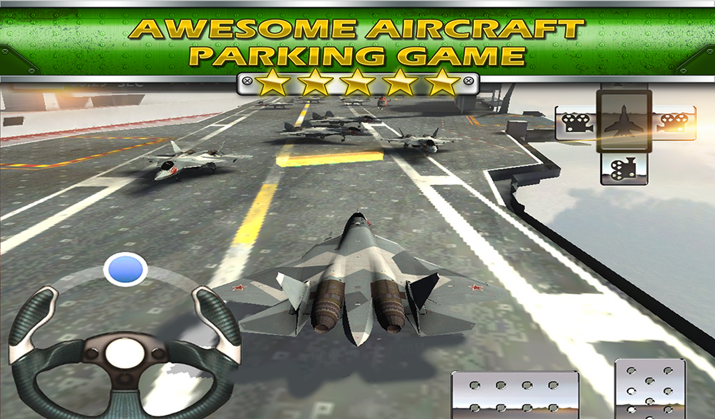 Aircraft Carrier Parking 3D