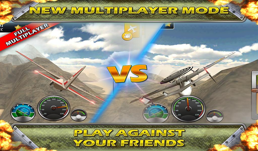 Airplane Crash Land flying Sim