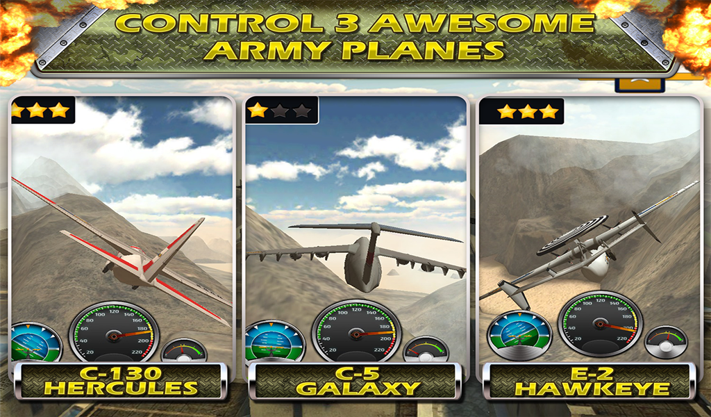 Airplane Crash Land flying Sim