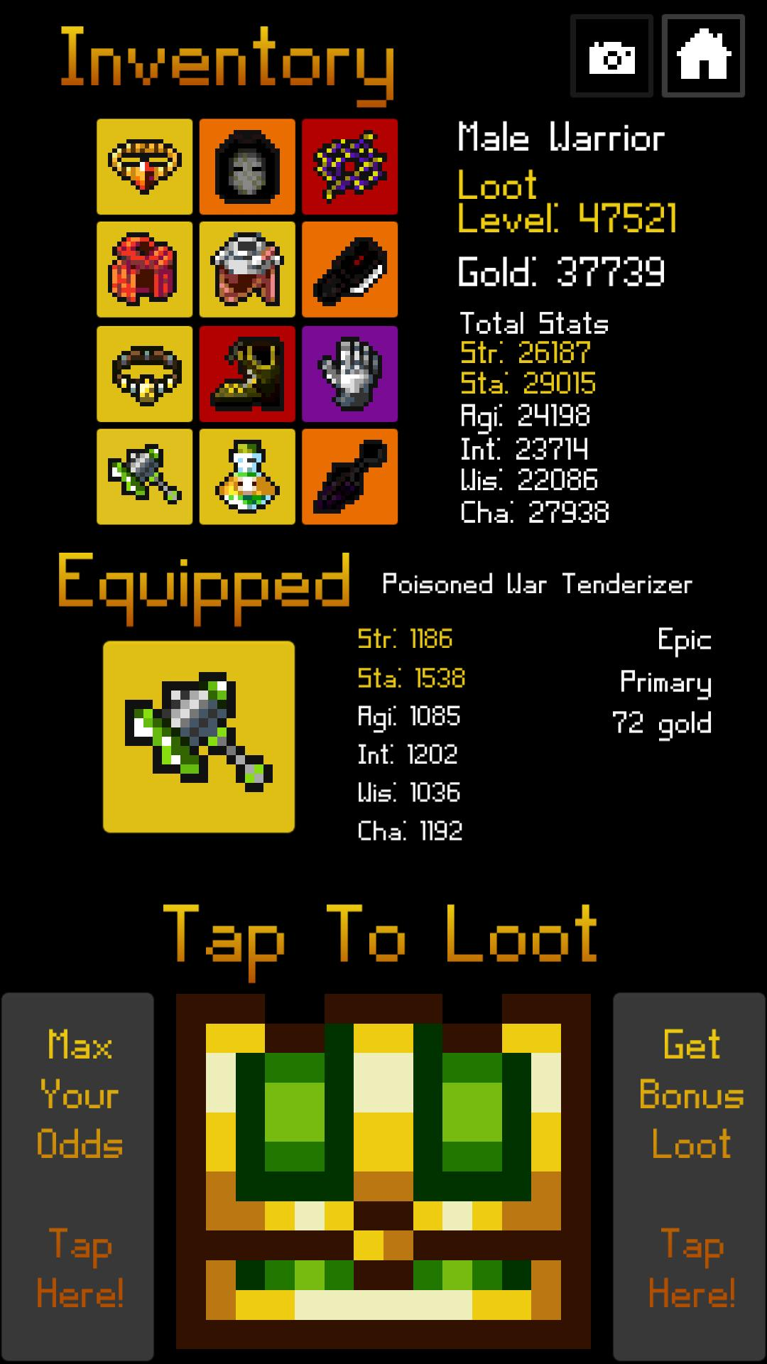 Amazing Loot Grind