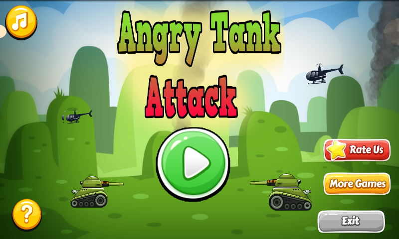 Angry Tank Attack