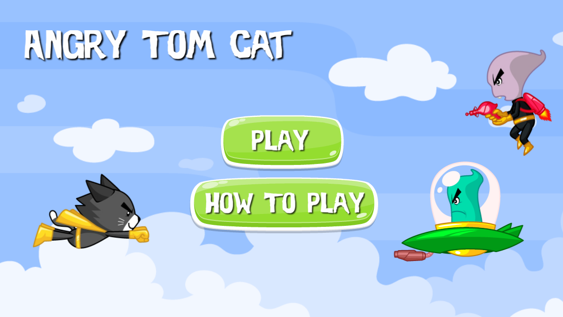 Angry Tom Cat