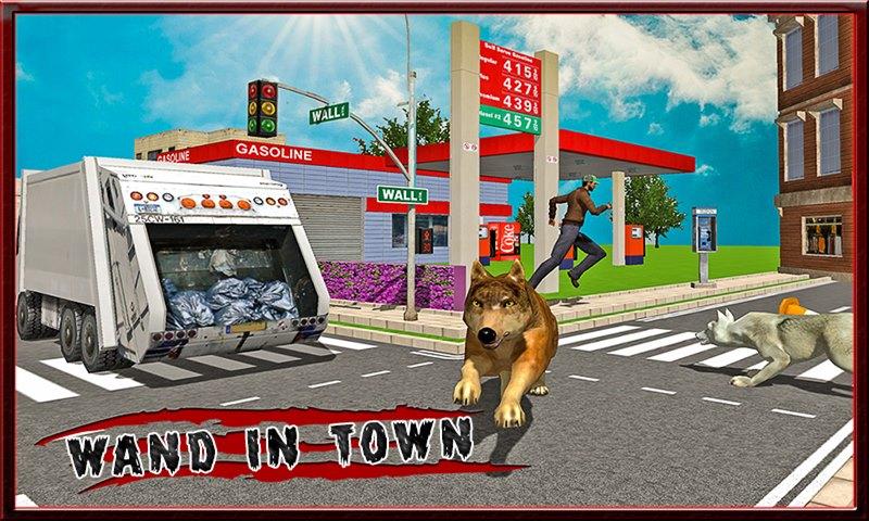 Angry Wolf City Revenge