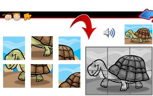Animal Puzzles 6