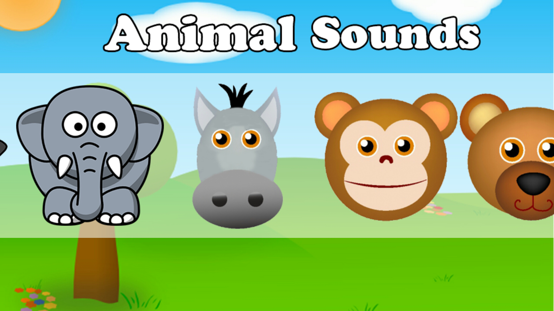 animal sounds description application