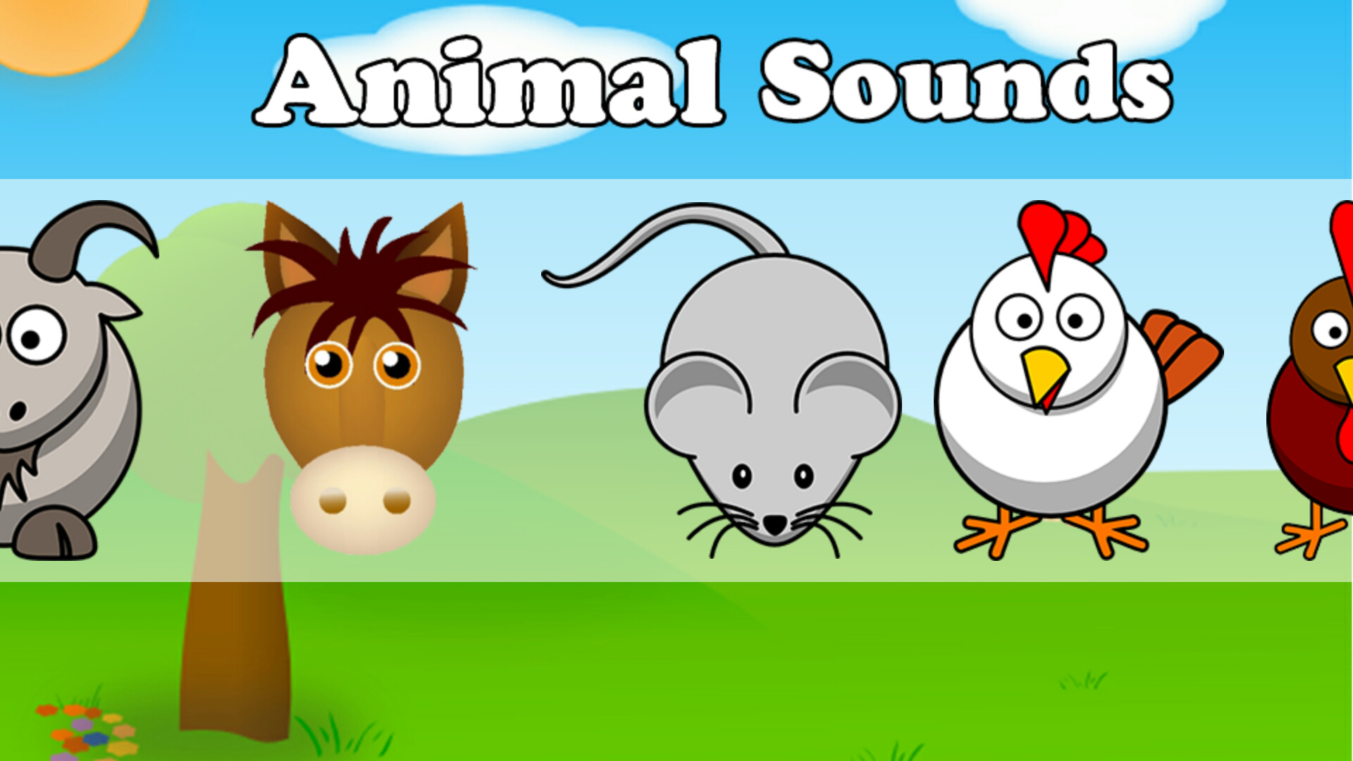 animal sounds description