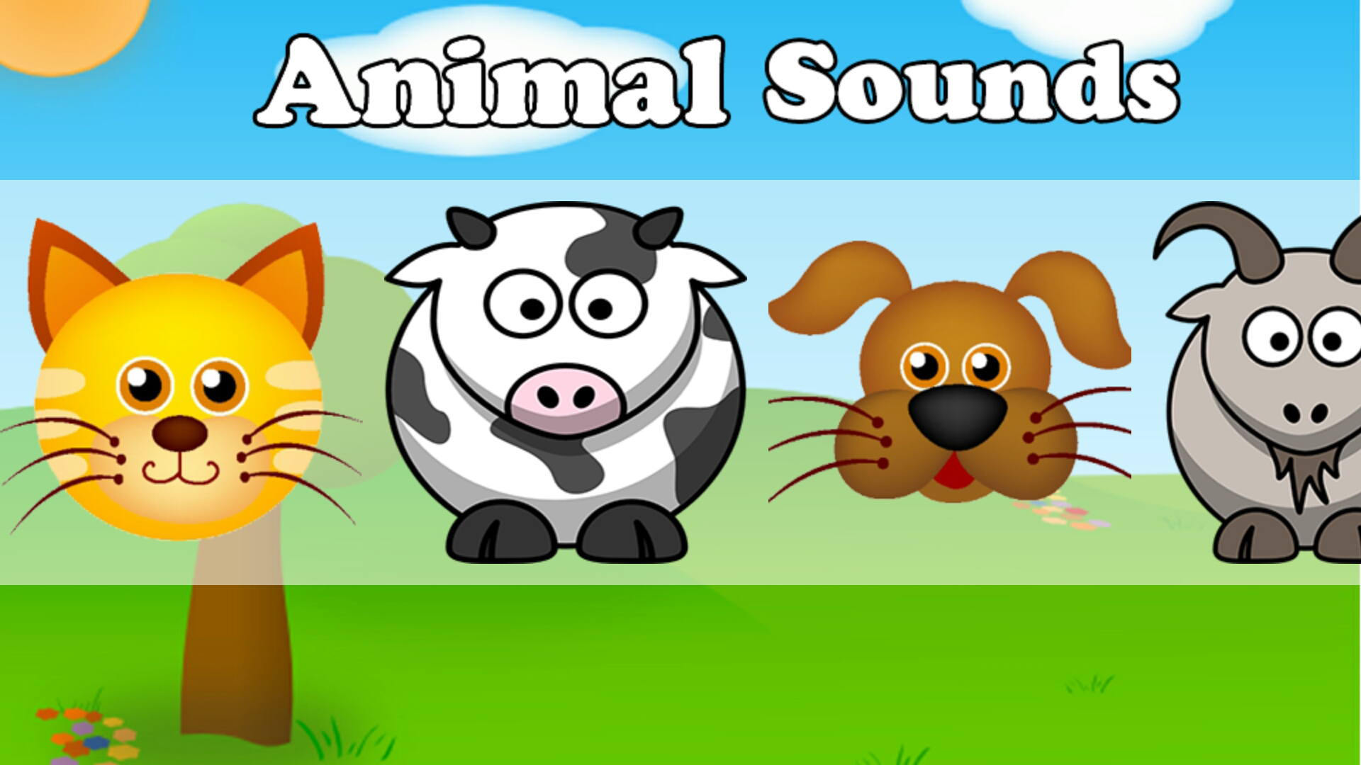 sounds animal apps tags