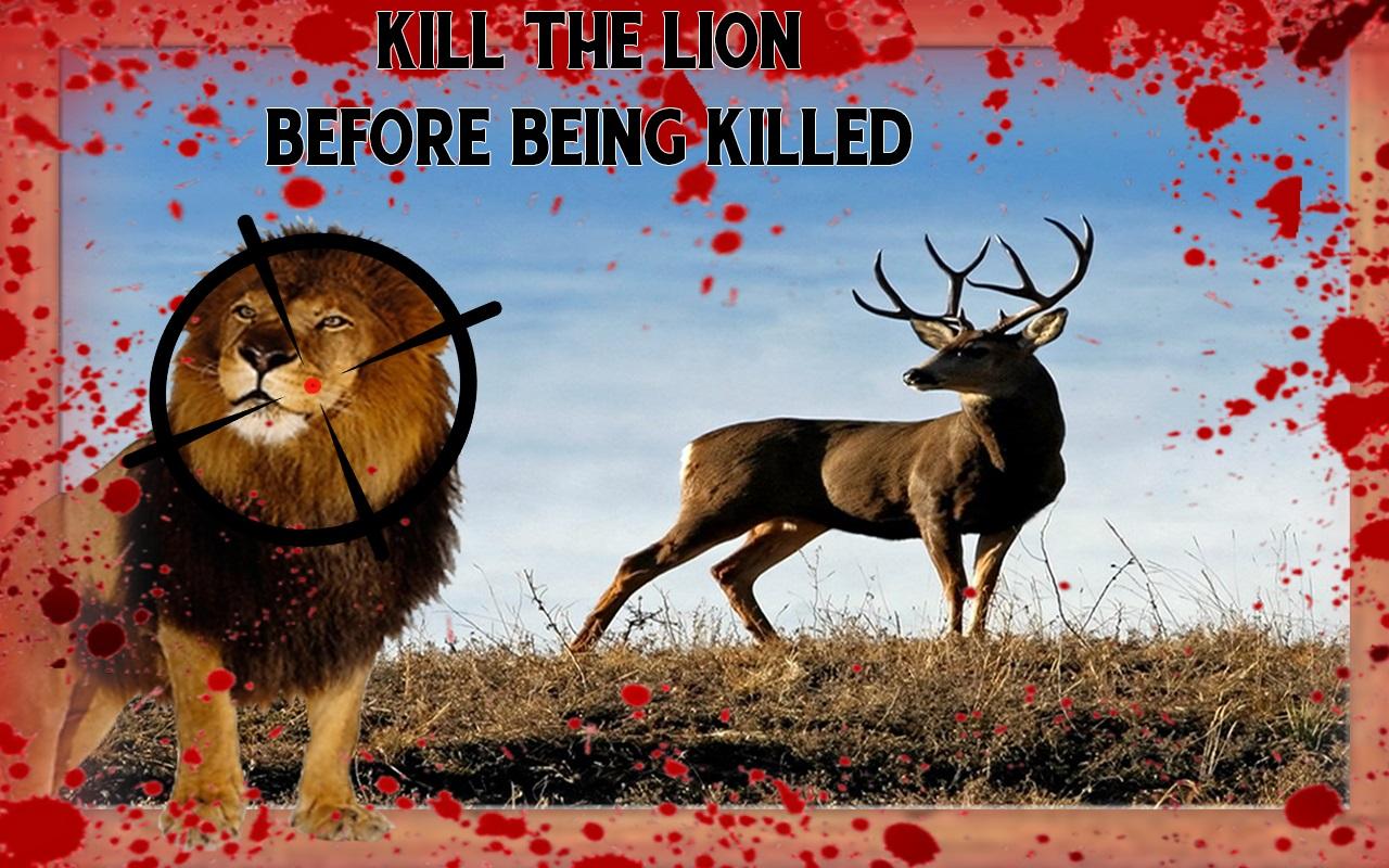 Animal Survival Lion Hunt