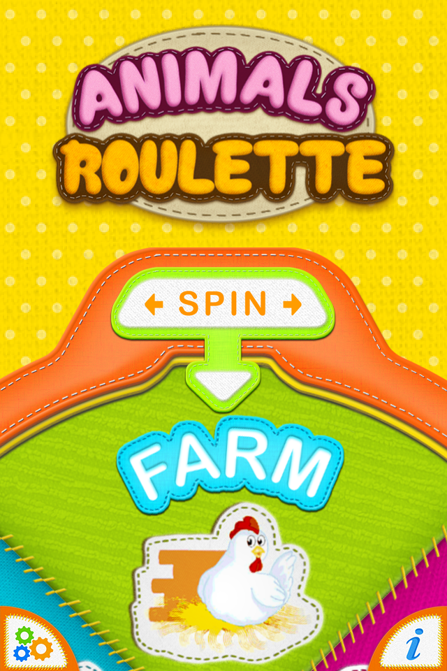Animals Roulette PRO – Sounds and Noises for Kids.