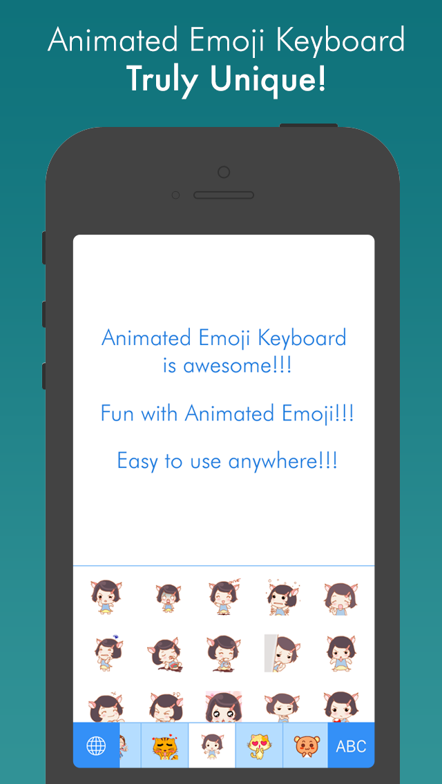 Animated Icons – Best animated GIF sticker keyboard