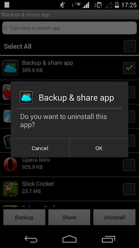 Apk/Apps Share/Send/Backup