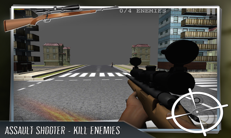 Assault Sniper Shooting 3D