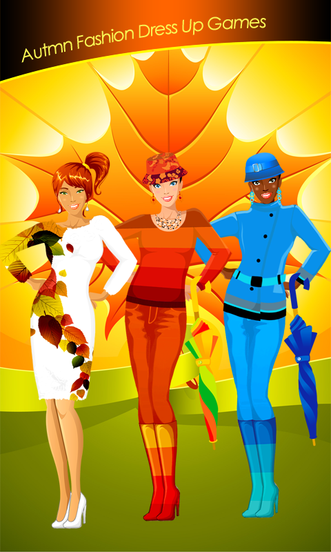 Autumn Fashion Dress Up Games