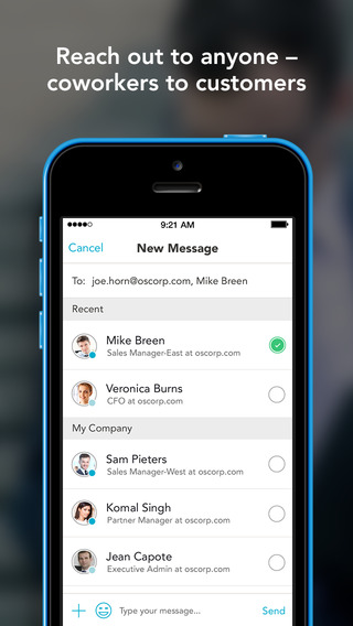 Avaamo – secure messaging for Business