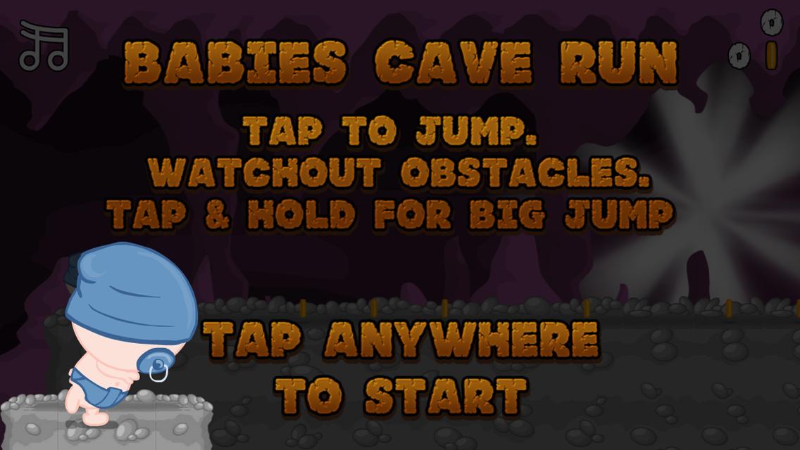 Baby's Cave Run