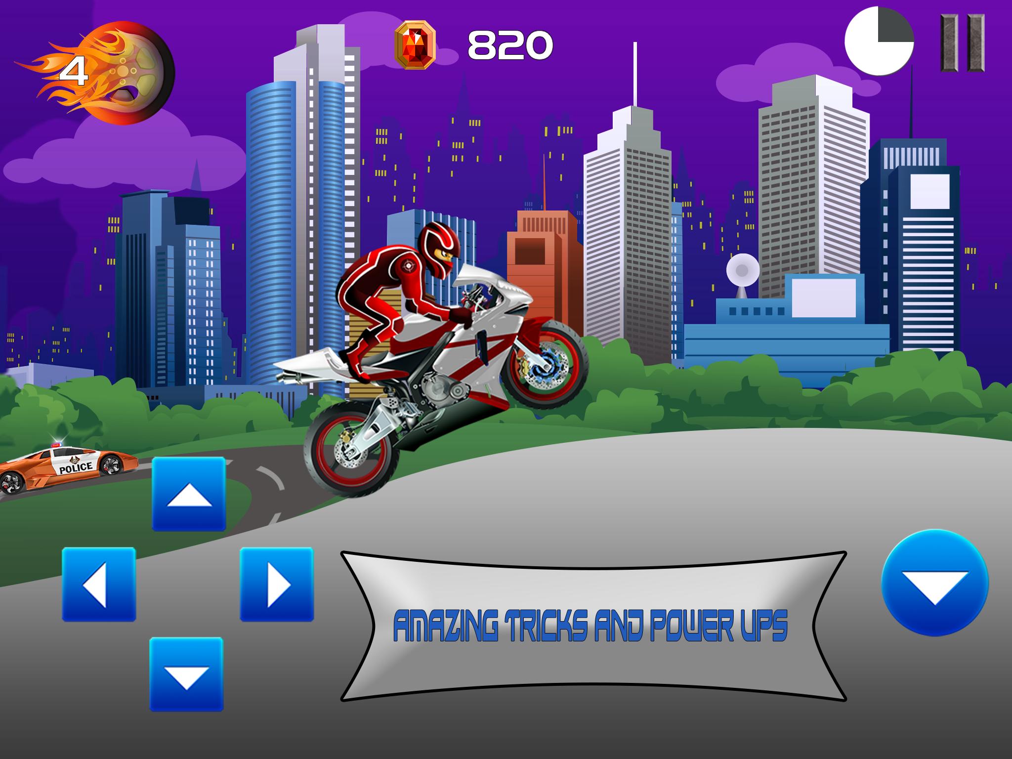 Bandit Bikers- Police Chase Free