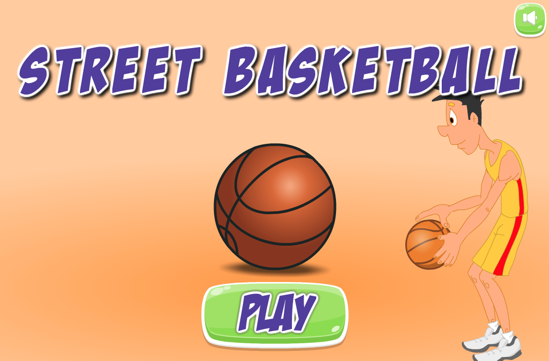 Basketball in Street