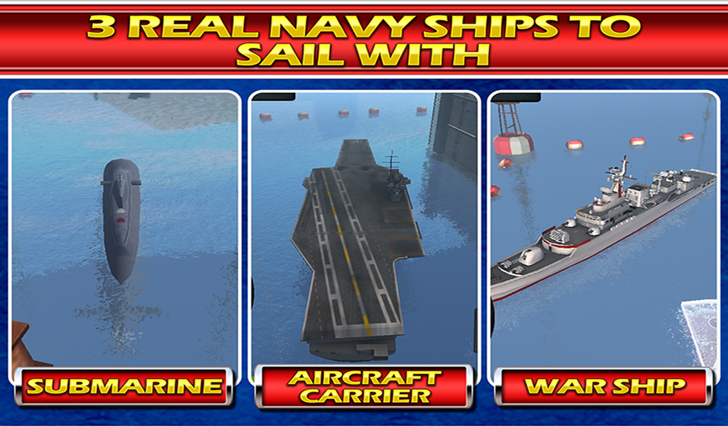 Battle Ships 3D Simulator Game