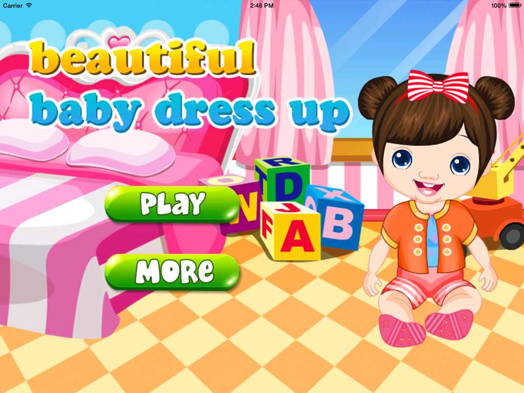 Beautiful Baby Dressup