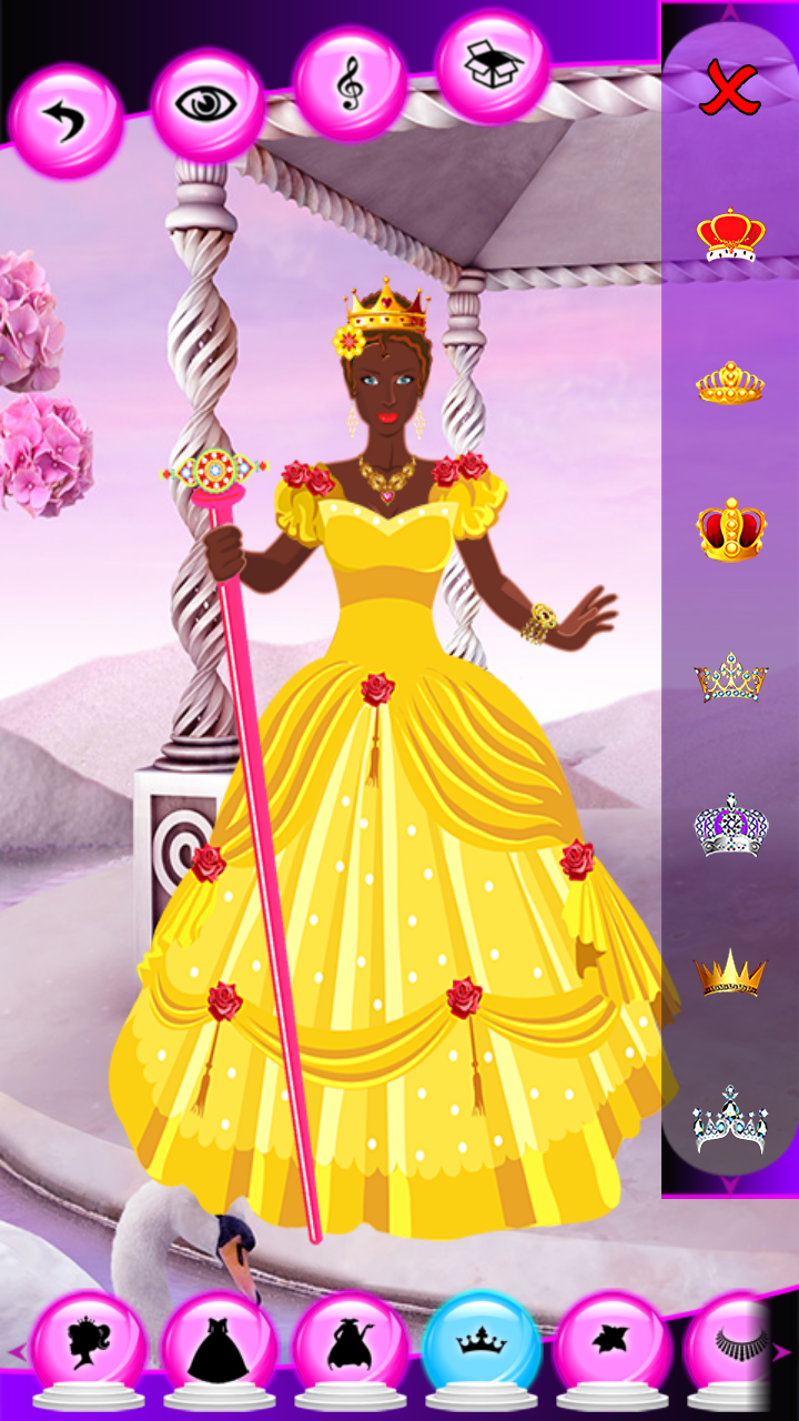 Beauty Queen Dress Up Games