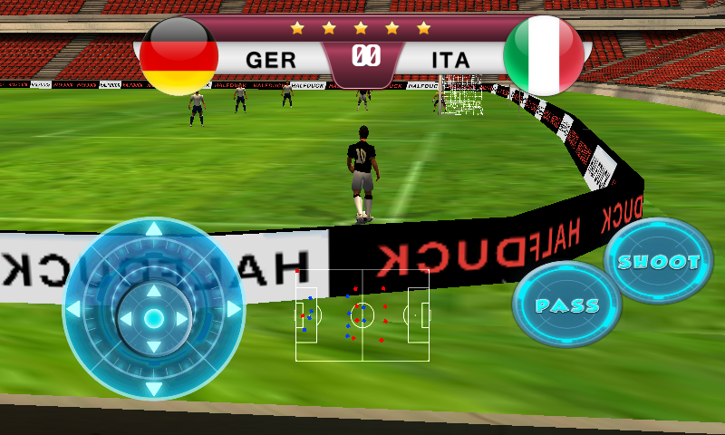 Best Real Speed Pro Football 2016 – Germany VS Italy edition