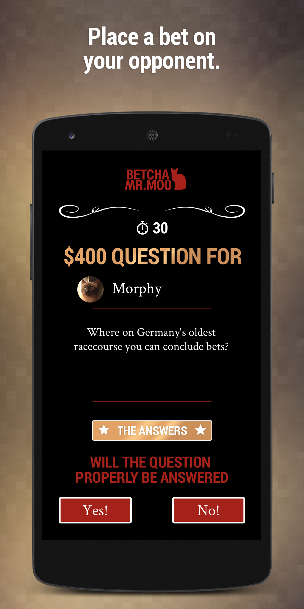 Betcha Mr.Moo - Quiz