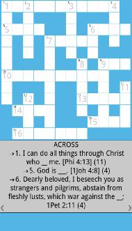 Bible Crossword