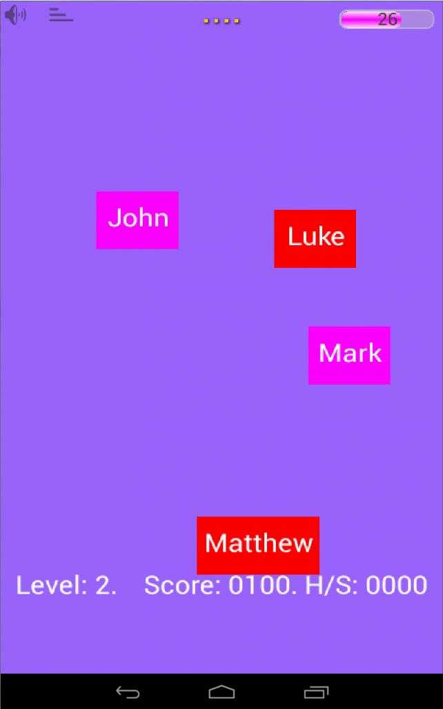 Bible Sorting Game